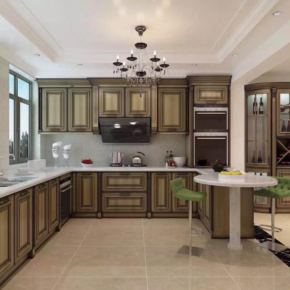 Custom-made kitchen cabinets in Lasalle: solid wood, wood ...