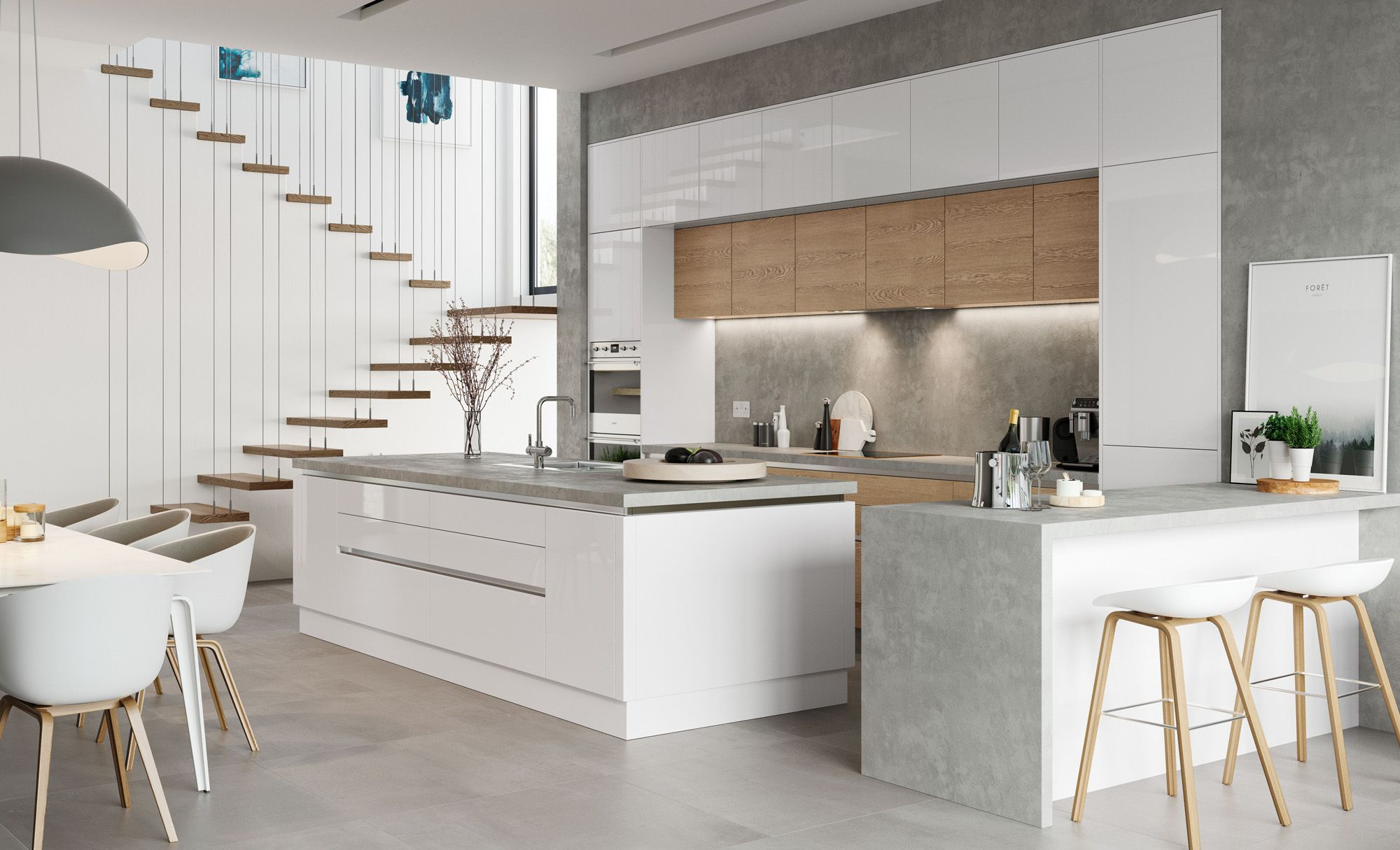Need a wide range of lacquered kitchen cabinets to choose from in ...